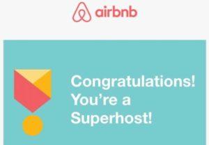 Devenir Superhost sur la plateforme Airbnb