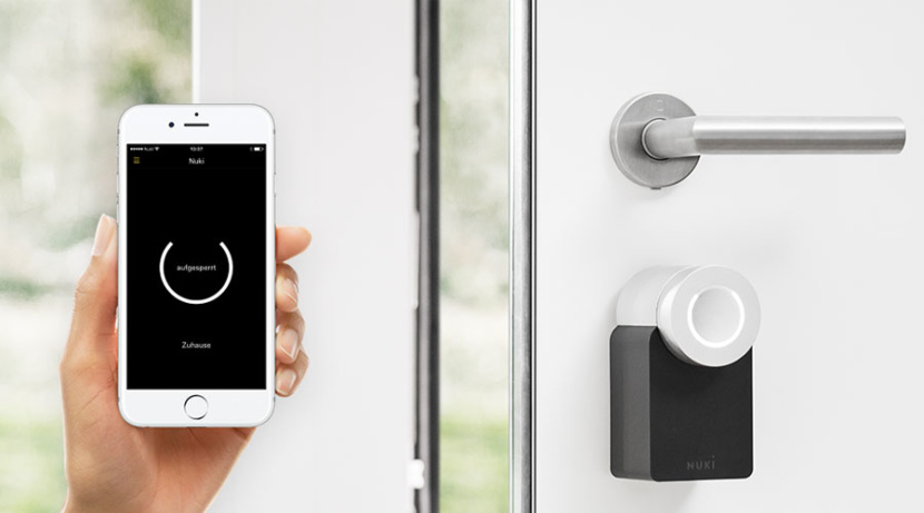 nuki smart lock clé virtuelle airbnb
