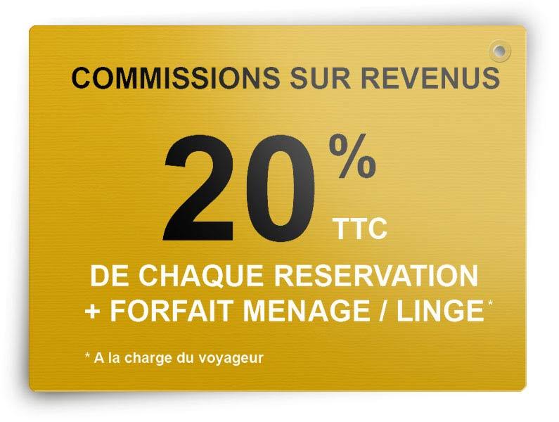 Commissions Conciergerie Airbnb à Cannes