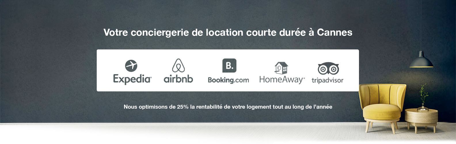 Gestion locative airbnb à Cannes