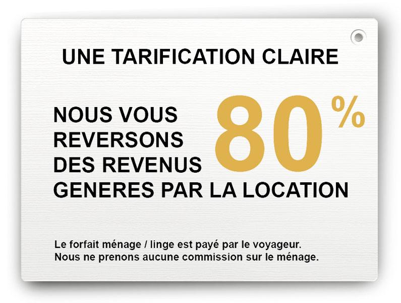 Tarification conciergerie location courte durée