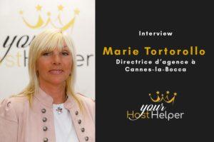 Interview de Marie Tortorollo : Directrice de la conciergerie YourHostHelper à La Bocca