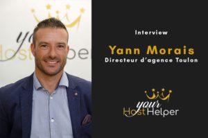 Interview de Yann Morais : Directeur de la conciergerie YourHostHelper à Toulon