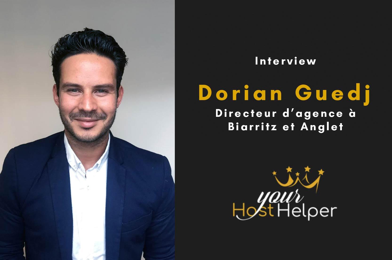 Interview de Dorian Guedj : Directeur de la conciergerie YourHostHelper à Biarritz