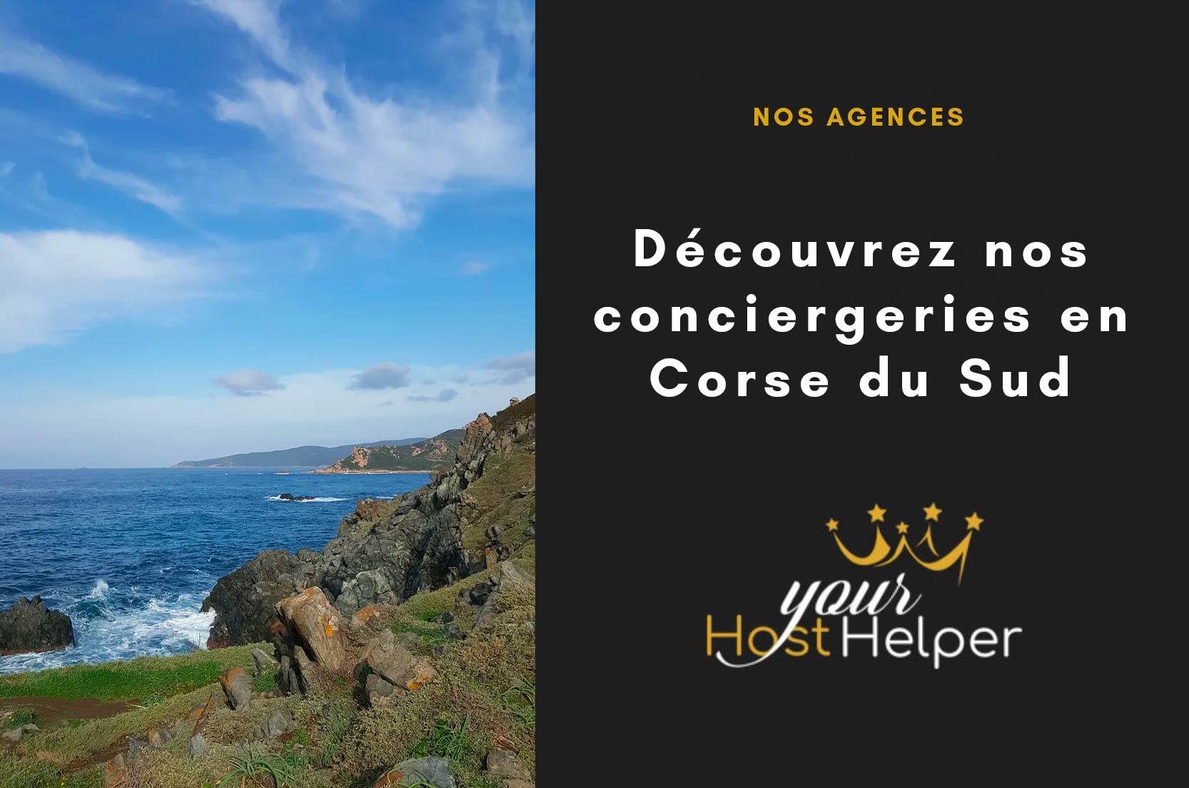 Découvrez les conciergeries en Corse du Sud de YourHostHelper