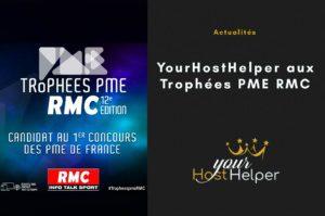 Le réseau de conciergeries YourHostHelper aux Trophées PME RMC